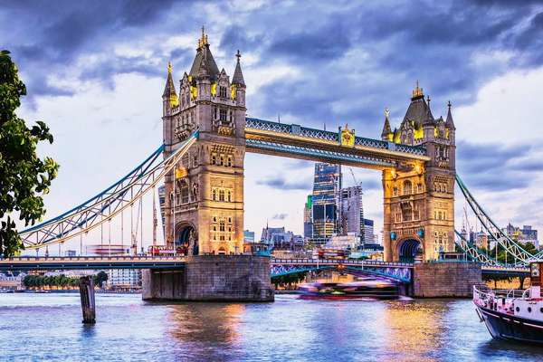 """ London, Tower Bridge """